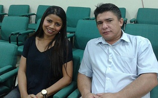O Presidente da Câmara de Cantá, Vereador Alex Lima e a Vereadora Fernanda Silva participam do I Encontro Estadual Interlegis de Roraima